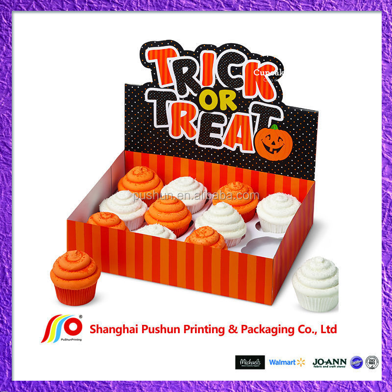 holloween decoration cupcake box