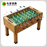 wooden color game table baby foot soccer game tables