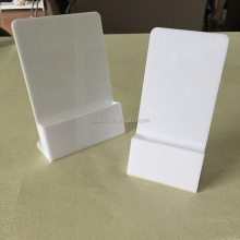Best-selling Small Acrylic Desk Display Stand for Brochures or Magazines