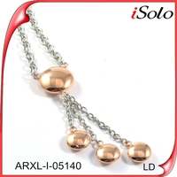 online jewelry shopping rose gold beauty accessories for woman stainless steel necklaces