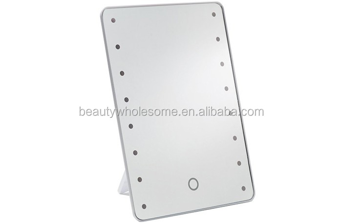 Led lighted makeup magnifying mirrors ,H0T35f led mirror