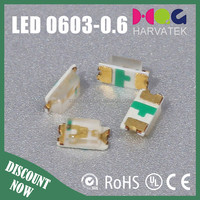 Right angle PCB led Emitter SMD chip light yellow