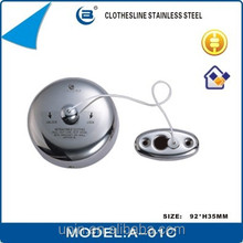 Retractable Single Line Clothesline Outdoor Round shape