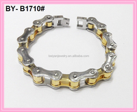 11mm stainless steel cool big size motorcycle chain bracelet