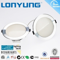 SMD2835 COB 90mm cutout size dimmable led downlight