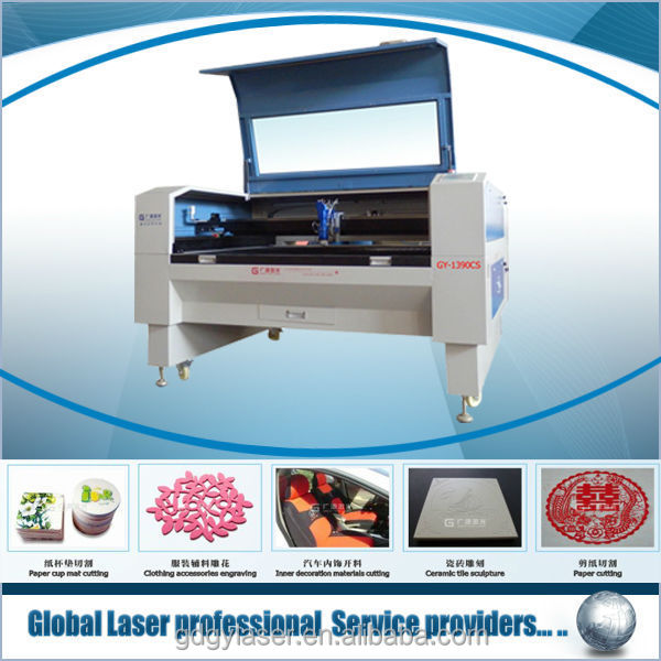 worldwide hot sale Beijing RECI Z6, 150W,1390,mixed material, metal non-metal , plastic film laser punching machine