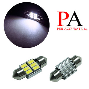 PA Car Reading Lamp Bulb Interior Light 5730 6SMD LED 31mm festoon