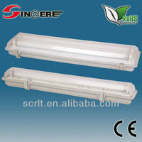 SFW218B T8 2*18W ABS or PC waterproof vapor light IP65 batten