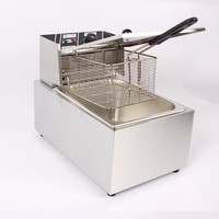 OUTE Manufacturer CE Approved 220V Electric mini Stainless Steel chips fryer