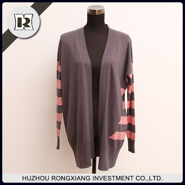 Factory supply fashion cardigan sweater for autumn