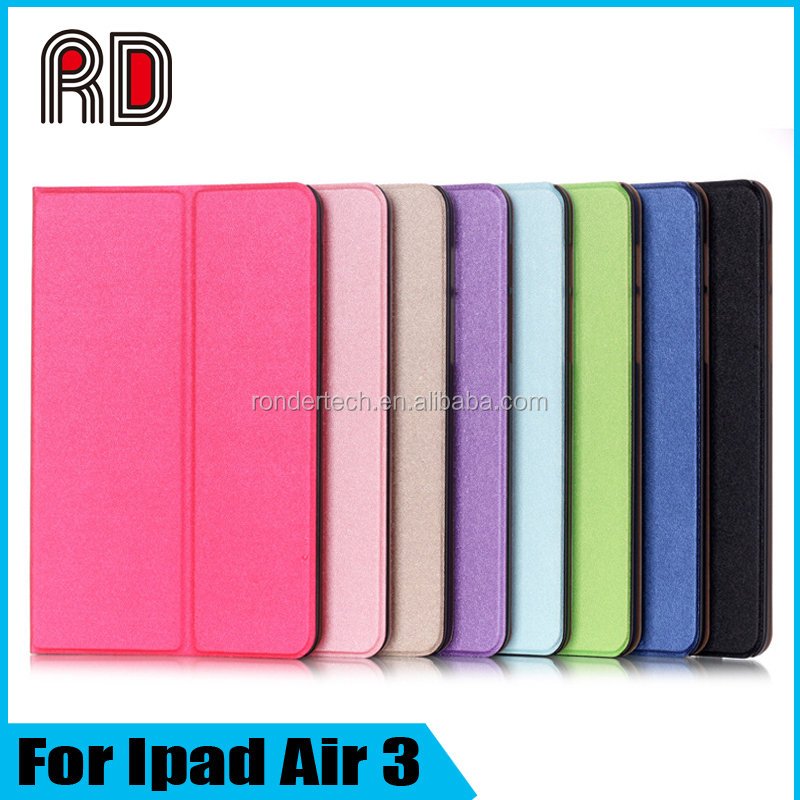 Fashion New Play Different Stand Flip Two Fold Protective Table Case for Ipad Air 3