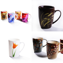 Personalized ceramic tea mug porcelain coffee mug wholesale