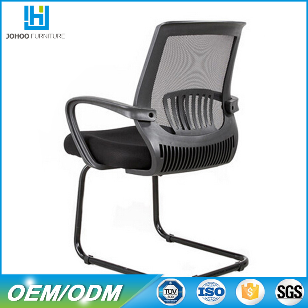 Fashion conference romm chair with seat height adjustment and quality mesh back