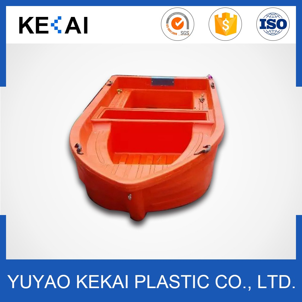 New design cheap rotation moulded fishing plastic boat with high quality