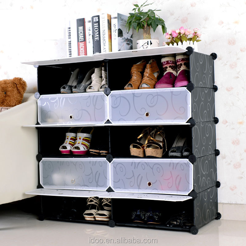 house shoe cabinet storage ideas,low price plastic more color to
