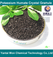 Potassium Humate crystal granular for agriculture use
