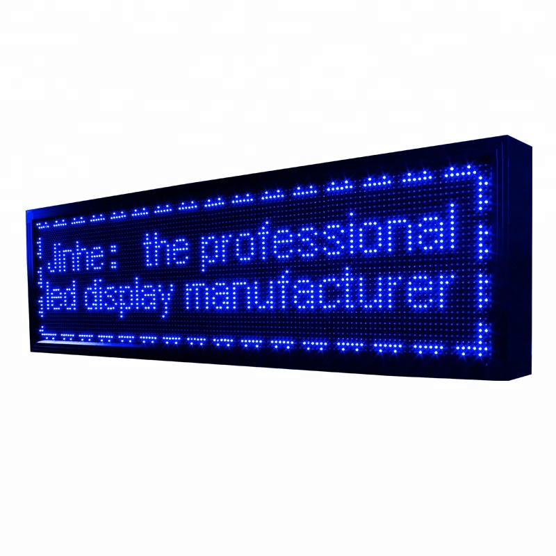 Advertising moving LED scrolling text Display Electronic Product module Price <strong>P10</strong>