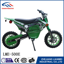 500cc dirt bike with strong magnetic brush motor and disc brake LME-500E