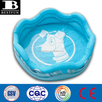 Promotional Custom inflatable dog pool portable dog swimming pools