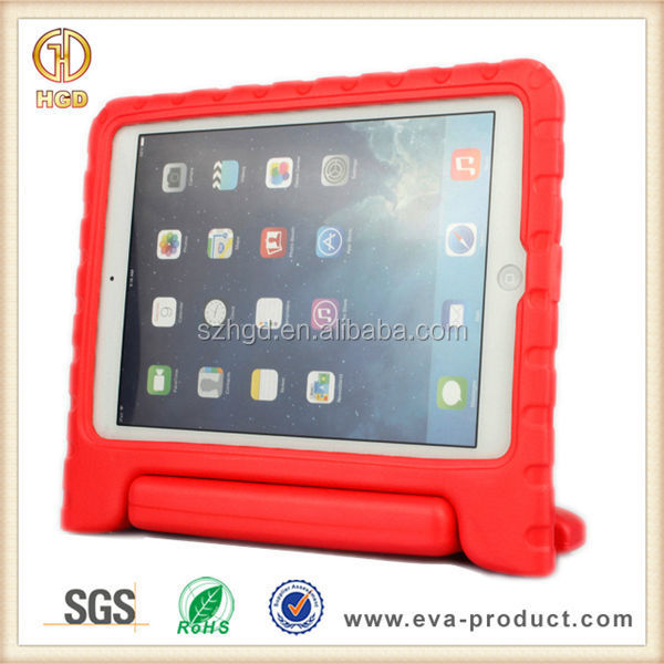 Best Seller Case for iPad Air, Factory Price 180 Degree Rotating Handle Stand Kids Case for iPad Air 2