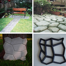 Manually Paving Cement tile Stone Plastic Path Maker Mold