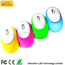 Soft silicone mouse 2.4Ghz Wireless Type handheld wireless silicone mouse