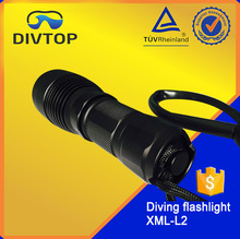 Wholesale alibaba express 2200 lumens diving flashlight