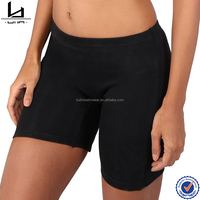 Simple cotton with spandex material cycling short women sexy booty shorts elastic waist woman shorts