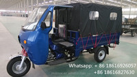 pedal cargo tricycle/van cargo tricycle/Motorcycle 3 Wheel