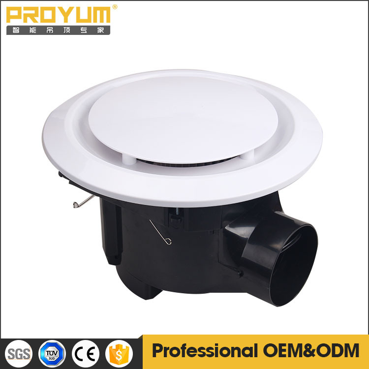 Round Bathroom Exhaust fan 10inch ABS plastic SAA CE approved ceiling toilet kitchen exhaust fan