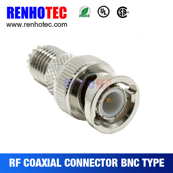 Wholesale Silver Plated Threaded BNC to Other RCA connectors