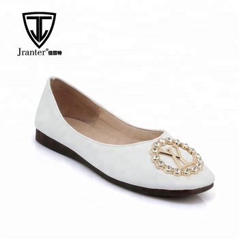 Womens Slip On Loafer Casual Low Flats Square Toe Shoes