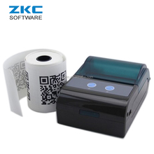 ZKC 5805 Bluetooth USB RS232 Mini Pocket Mobile POS Qr code Ticket Printer for Smartphone