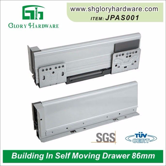 Newest beautiful automatic close drawer slide
