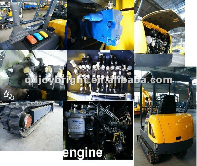 JW18 1.8ton crawler excavator with CE