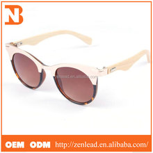 Factory Sale Top Selling Personalized Gradient Color Wooden Sunglass