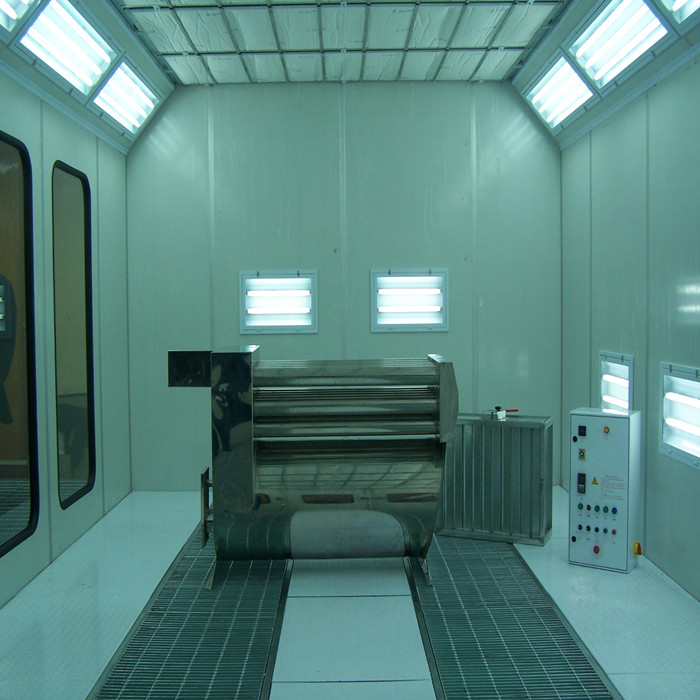 car painting booth with infrared heating lamps furniture spray booth