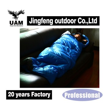 Guaranteed quality portable camping outdoor envelope sleeping bag