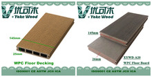 Grade one, hot sale, highest cost effective wood-plastic composite (WPC) floor