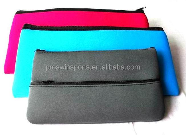 Wholesale neoprene pencil case with compartments