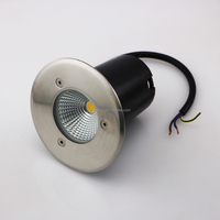 High quality and cheap warm white aluminum COB 3W led underground light Buried landscape lighting