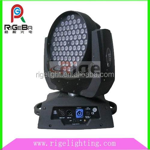 Tri color 72*3w high power led moving head