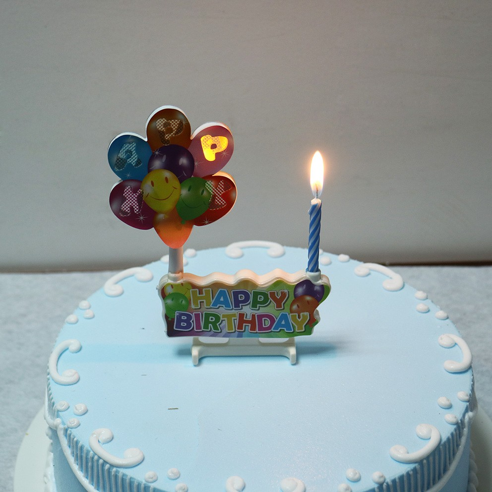 Novel Music Play Singing Song Party Birthday Candle For Parties