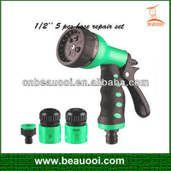 Car Washer,Garden Sprayer,1/2'' 5 Pcs Hose Repair Set