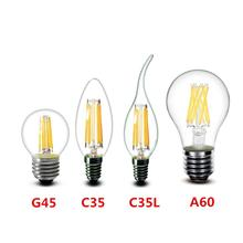 Christmas Day decoration LED light bulb C35 with Ceramic LED filament