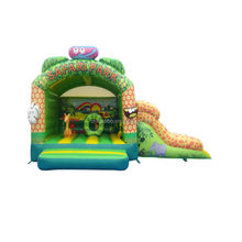 160303006 SiBo mini kids inflatable jumping house funny bouncing bed for sale
