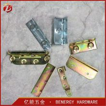 China supply bed fitting hardware bed frame hardware bed connection
