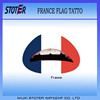 High quality latest custom country flag temporary tattoo sticker