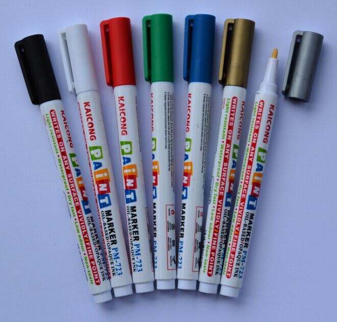 KAICONG Japanese medium tip iPOSCA Paint marker Oil based Opaque ink paint marker pen PM-762