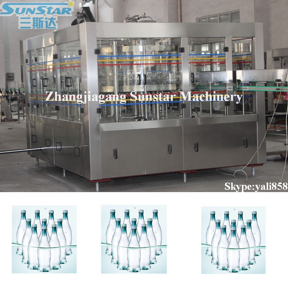 The automatic mineral water plant price